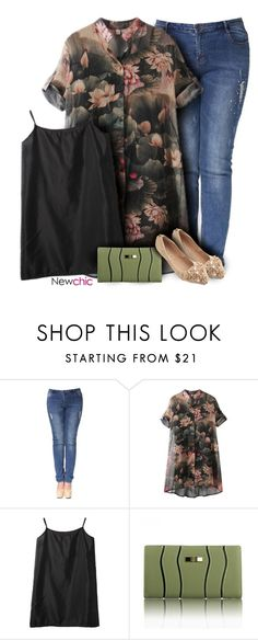 """NewChic Style #50"" by tawnee-tnt ❤ liked on Polyvore"