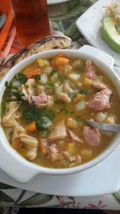 """Sopa de Mondongo"" Tipical Food in #Marinilla #Antioquia"
