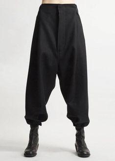 Futuristic Original Ofelya Ladies Woolen Trousers / Casual Drop Crotch Harem Pants - Big Carrot Pants Hanging Crotch Pants Collapse - Futurictic Original Ofelya Ladies Woolen Trousers / Casual Drop Crotch Harem Pants – Big Carrot P - Drop Crotch Pants, Sarouel Pants, Women's Pants, Harem Pants Outfit, Harem Trousers, Adidas Pants, Ankle Pants, Trousers Women, Inspired Outfits