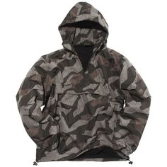 Mil-Tec Combat Winter Anorak Splinter Night Camo is a high quality warm anorak, with a comfort fleece lining for all weather, russian special forces style. Camo Truck, Tactical Clothing, Tactical Gear, Tactical Jacket, Tactical Equipment, Survival Equipment, Survival Clothing, Camo Outfits, Camping