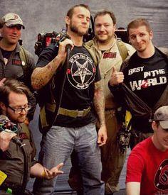 CM Punk, Ghostbuster Extraordinaire