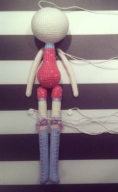 Amigurumi - boneca