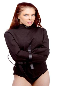 Strict Leather Black Canvas Straitjacket Size : S-ST900S