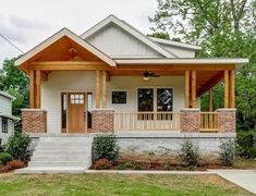 Wooden House Design, Bamboo House Design, Tropical House Design, Minimal House Design, Kerala House Design, Simple House Design, Wooden Houses, Modern Bungalow House, Bungalow House Plans