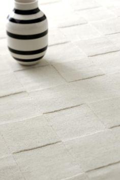 Luzern Vit Handtuftad matta | Linie Design | Länna Möbler | Handla online