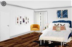 Contemporary, Preppy Bedroom Design by Havenly Interior Designer Maysan Preppy Bedroom, Design Process, Contemporary, Interior Design, Inspiration, Furniture, Home Decor, Nest Design, Biblical Inspiration