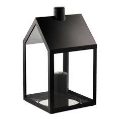 LightHouse lyhty, musta | Ulkotulet | Piha/puutarha | Finnish Design Shop