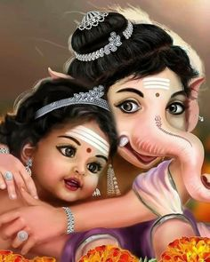 Shri Ganesh Images, Shiva Parvati Images, Ganesha Pictures, Krishna Images, Shiva Shakti, Jai Ganesh, Ganesh Lord, Ganesha Art, Shiva Art