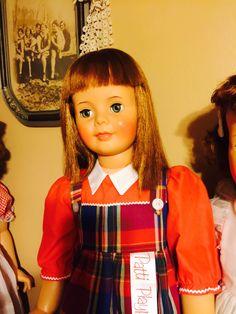 Close up Patti Playpal Marla's doll