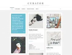 Curator is a grid-based theme built for collecting the things you find on the internet, no matter what form they come in. With special styles for every post type, all your content will look and fee...