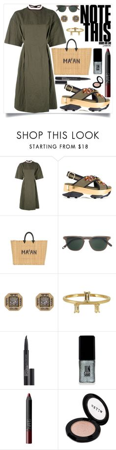 """""""Summer: Morning Walk"""" by camry-brynn ❤ liked on Polyvore featuring Marni, MA'AN, Garrett Leight, Noor Fares, Elise Dray, Smashbox, JINsoon, NARS Cosmetics and Stila"""