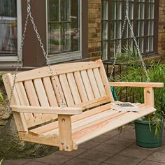 porch swings | Porch Swing – Fun and Enjoyment Value for Your Home: Hanging Porch ...