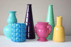 Pop vase collection.