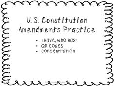 Best 25+ Us constitution amendments ideas on Pinterest