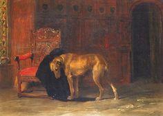 Briton Riviere - Faithful To The Last Dog