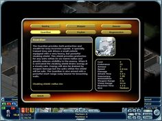 Laser Squad: Nemesis Windows Online Help descriptions of all the units