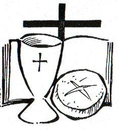 Dibujos Católicos : Eucaristía