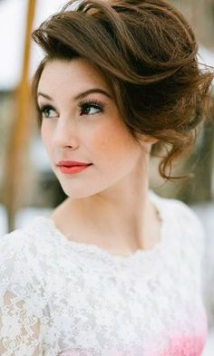 Short Wedding Hairstyle Ideas So Good Youd Want To Cut Your Hair ❤ See more…