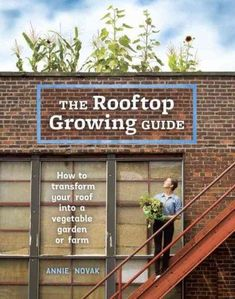 Tapping into the expanding market for rooftop farming and green roofs, this is the first stylish, easy-to-use book for urban gardeners interested in utilizing their roof space for growing food. As mor #hydroponicgardening