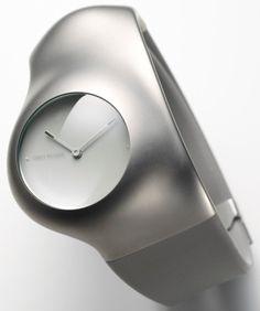 "Issey Miyake ""Hu"" Watch Designed By Ross Lovegrove"