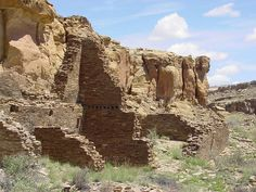 Chaco Canyon Hungo Pavi ruins staircase NPS - New Mexico - Wikipedia, the free encyclopedia