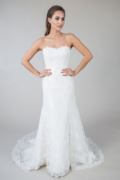 Bridal Gowns - A Little Something White