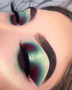 Makeup Eye Looks, Eye Makeup Art, Pretty Makeup, Eyeshadow Makeup, Eyeshadows, Makeup Goals, Makeup Inspo, Makeup Inspiration, Creative Makeup Looks
