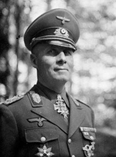 Sexy Military Men, Erwin Rommel, Field Marshal, Afrika Korps, German Army, North Africa, World War Two, Back In The Day, The Man
