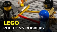 Police vs Robbers Lego Brickfilm Lego Police, Lego City, Stop Motion, Make It Yourself