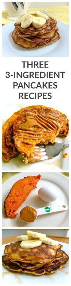 Three Ingredient Pancake Recipes