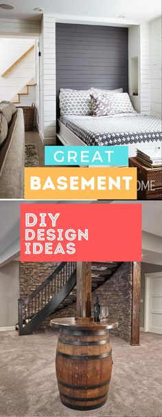 Basement Decor ! Tips For Styling Your Dream Basement #basementideas #basementdesign Diy Design, Design Ideas, Basement Decorating, Decoration, Diy Home Decor, Things To Come, Decor Ideas, Elegant, Amazing