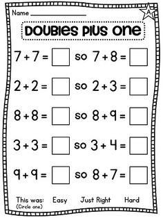 math worksheet : first grade math unit 8  worksheets math and school : First Grade Math Worksheet