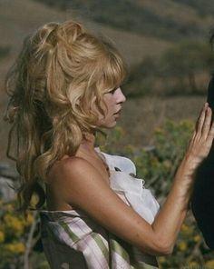 Brigitte Bardot 60s hair