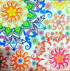 From Johanna Basfords Secret Garden Coloring Book