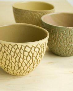 Stoneware bowl - kitchen bowl, unique handmade decorative bowl, textured modern pottery , soup salad cereal bowl