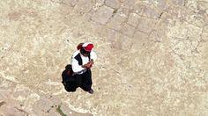Hat knitter of Taquille Island, Lake Titicaca, Peru Backpacking Peru, Lake Titicaca, Machu Picchu, Hat, Island, Chip Hat, Islands, Hats, Hipster Hat