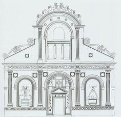 Alberti. Facade of the Tempio Malatestiano According to Albertis Intentions. 1454 | Flickr - Photo Sharing!