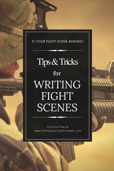 Guidelines and helpful hints for writing fight scenes. Writing fight scenes can be intimidating, and many good writers often struggle in this area. Creative Writing Tips, Book Writing Tips, Writing Promps, Fiction Writing, Writing Resources, Writing Help, Writing Ideas, Editing Writing, Writing Quotes