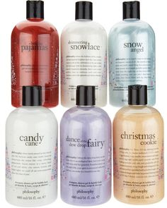 spread some joy this holiday season with this special edition, six-piece shower gel collection available only at QVC