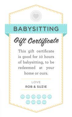 Babysitting! on Pinterest   Babysitting, Babysitters and Babysitting ...