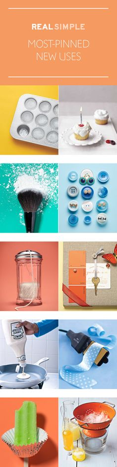 So fun! The most popular New Uses for Old Things on Pinterest from Real Simple.