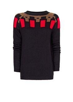 MANGO - Pullover mit Details