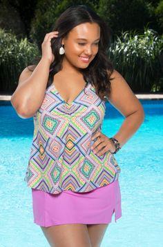 834ebf61537 TANKINI  amp  SKIRTINI SWIMWEAR Plus Size Swimsuits