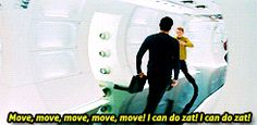 (gif) You adorable little Russian baby of cuteness! Chekov is seriously my favorite Star Trek character :)