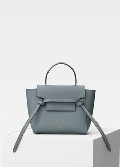 862dee497311 Nano Belt bag in grained calfskin