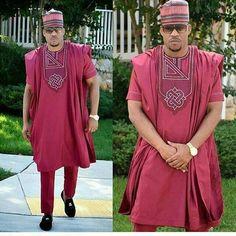 Cette Sexy et élégante tenue africaine pour les hommes est spécialement conçu pour vous faire tenir différentes entre autres dans toutes les occasions. Il se décline en 3 pièces : une chemise, un pantalon et le boubou avec une broderie bien détaillée. Tous nos articles sont fabriqués avec des