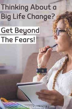 It takes courage to make a shift in your life and go from your comfort zone to the unknown! Get the support you need to get beyond your fears so you can go for your goals and dreams! #fear