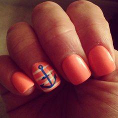 Summer nails - China Glaze Flip Flop Fantasy