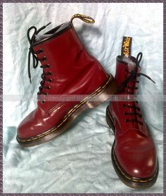 Dr Martens Vintage Made In England