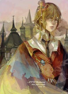 Vampire of Romania by el2san on DeviantArt - APH Hetalia